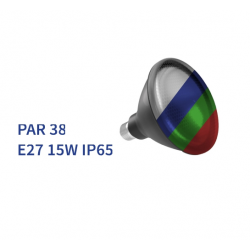 Bombilla PAR-38 E27 LED 15W...