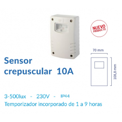 Sensor Crepuscular 10A