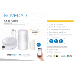 KIT DE ALARMA WIFI SMART HOME