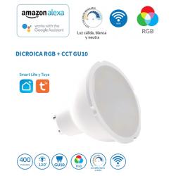 DICROICA GU-10 5W RGB+CCT WIFI